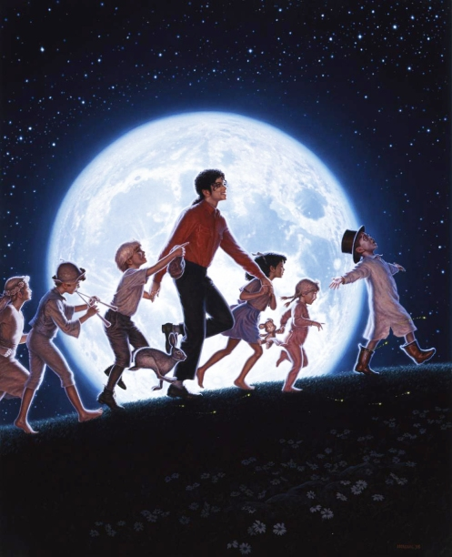 Honorarabsprache - DAVID NORDAHL malt Michael Jackson in merkw¸rdigen Situationen