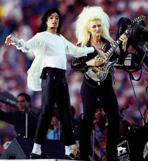 Super Bowl Michael Jackson Jennifer Batten