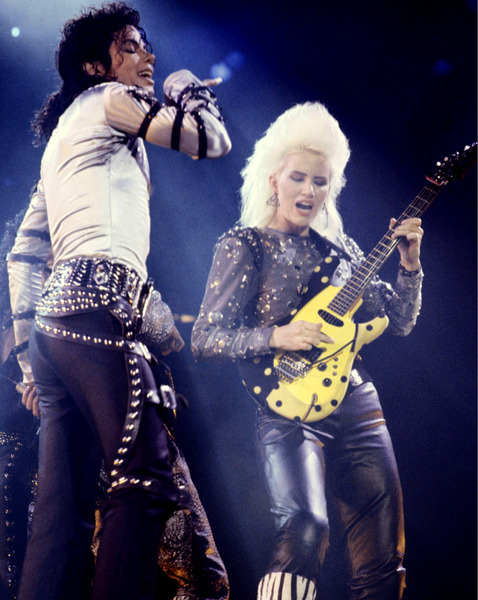 bad tour jennifer batten michael jackson