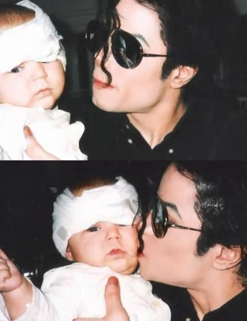 Michael visits hospital