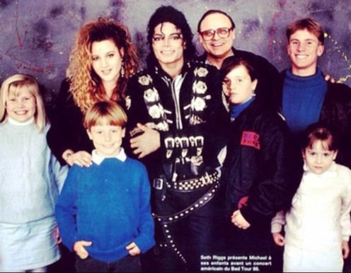 Seth Riggs Bad Tour Family