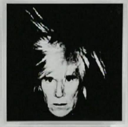 Warhol Scream Video Michael Jackson