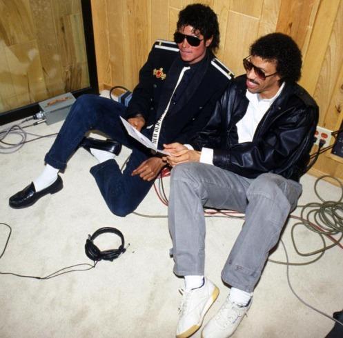 Lionel Richie Michael Jackson