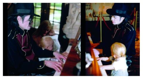 Mj and Prince piano
