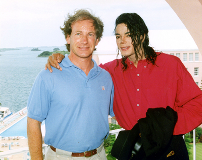 Michael Jackson with Macaulay Culkin in Bermuda, West Indies - 1991