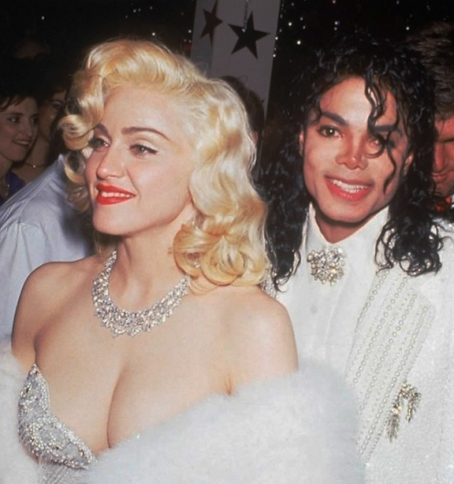 MJ and Madonna Oscars