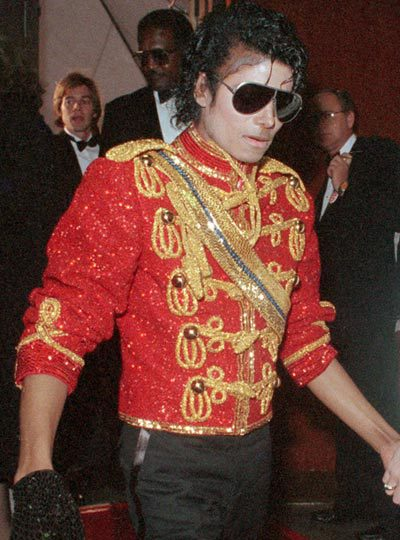 MJ Military Jacket red