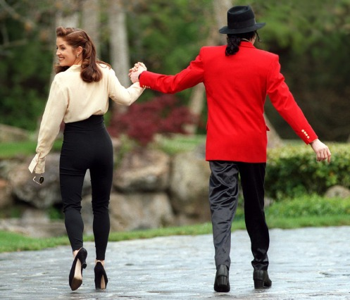 Lisa Marie Presley Michael Jackson