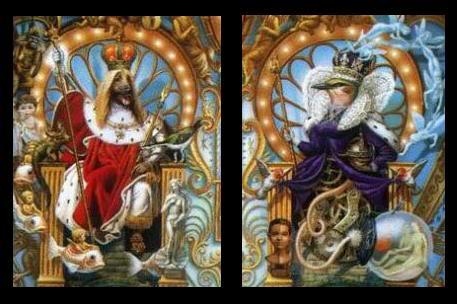 'Dog King' und 'Queen Bird' vom Dangerous Cover