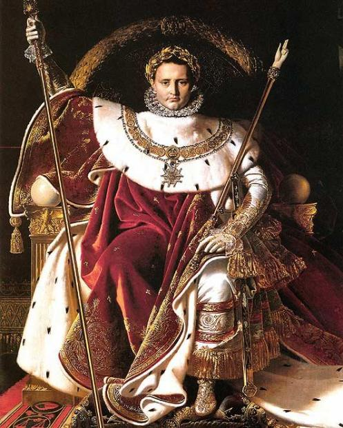 'Napoleon' von Auguste Dominique Ingres
