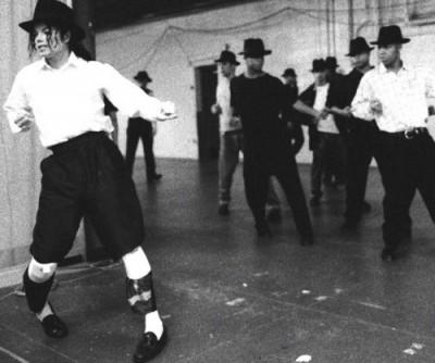 MJ rehearsing 2