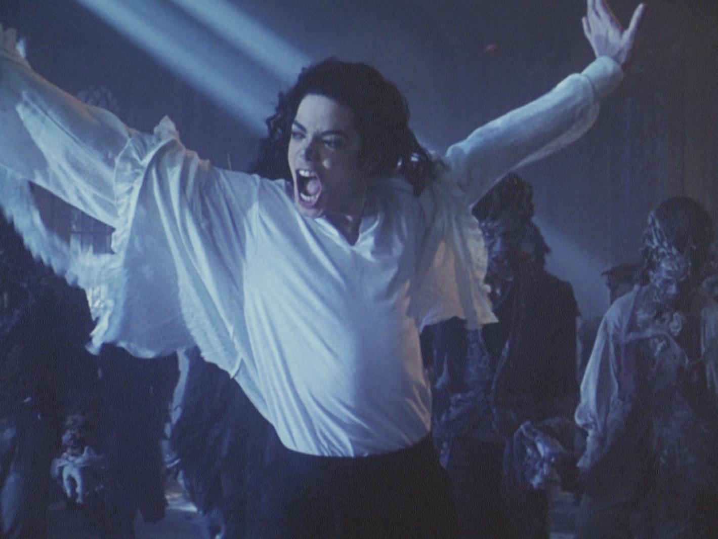 Michael jackson ghost