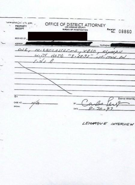 5 Michael Jackson Staatsanwalt Tonband Übergabe