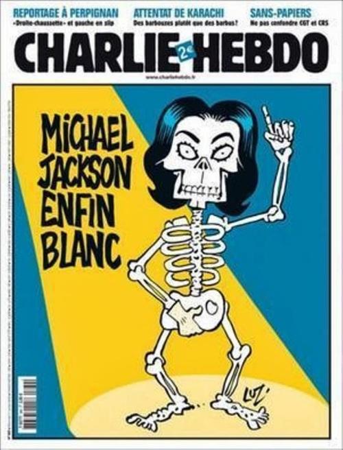 Michael Jackson Charlie Hebdo Cover 2009