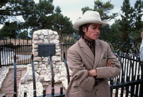 Michael visited Bill Cody's grave