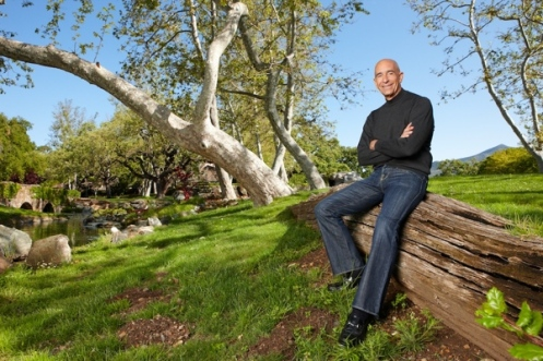 Tom Barrack, auf der Neverland Ranch