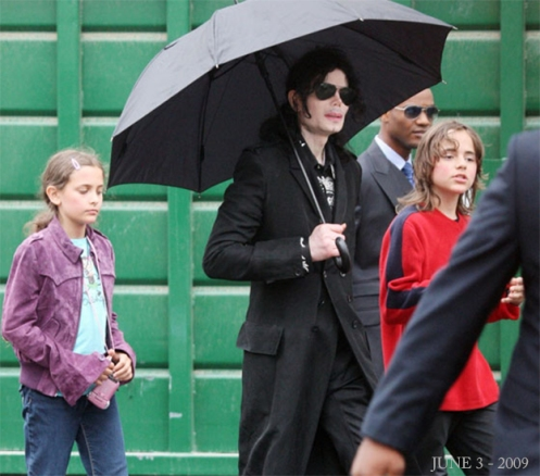 June 3 2009 MJ and Prince_ Paris