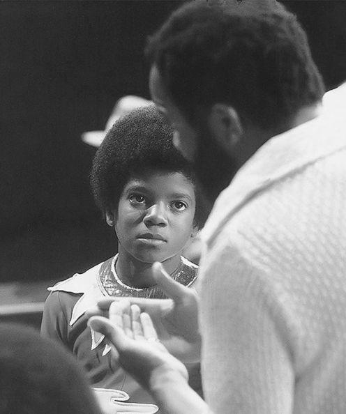 Michael & Berry Gordy