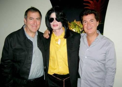 MJ und Simon Fuller