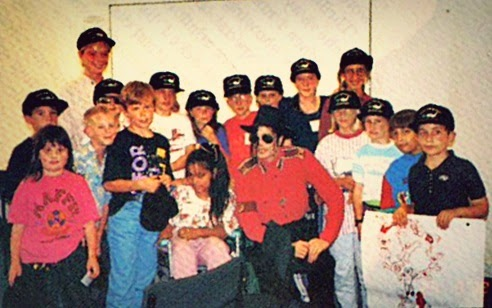 michael jackson Childrens Congress 92