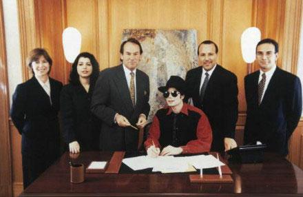 Michael Jackson 1995 Sony ATV Fusion