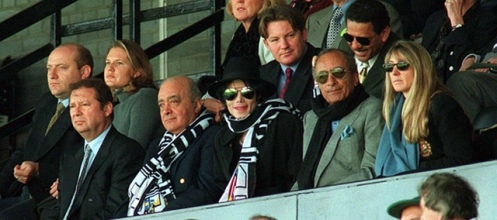Michael-Jackson-Fulham Football club