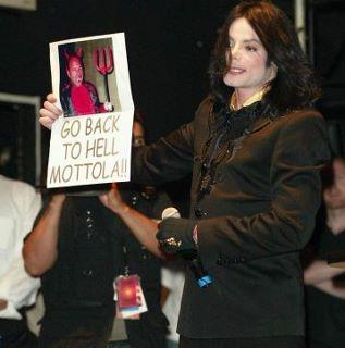 Michael Jackson Go back to hell Mottola