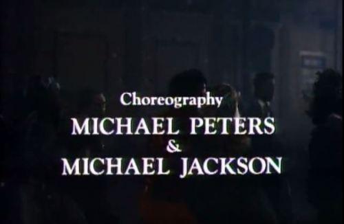 Michael Jackson Thriller Credits