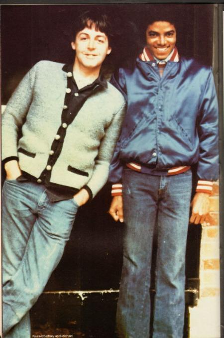 Michael Jackson und Paul McCartney