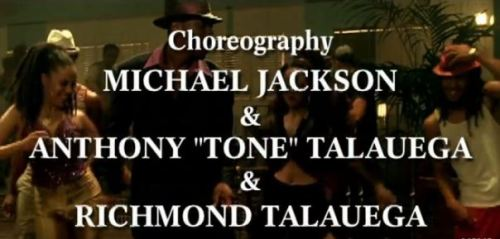 Michael Jackson You Rock My World Credits