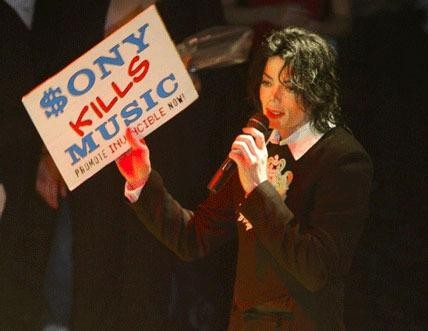 Sony kills Music Michael Jackson