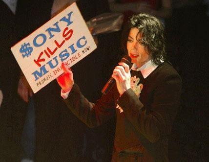 Sony kills Music Michael Jackson