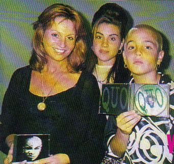 Joy, Chantal and Wade Robson in LA