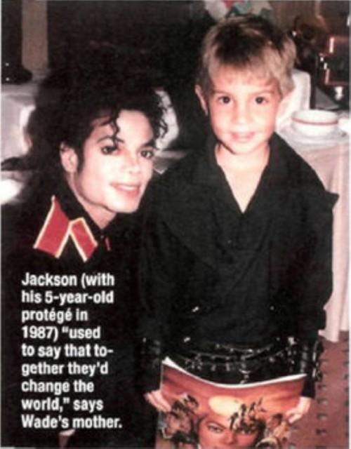 Wade Robson und Michael Jackson