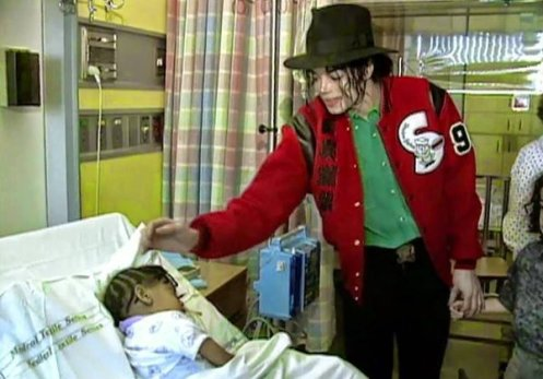 Michael im Spital