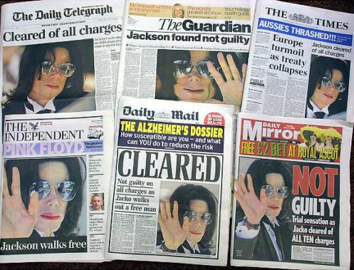 michael-jackson not guilty