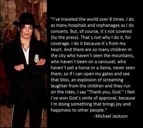 Michael Jackson Zitat