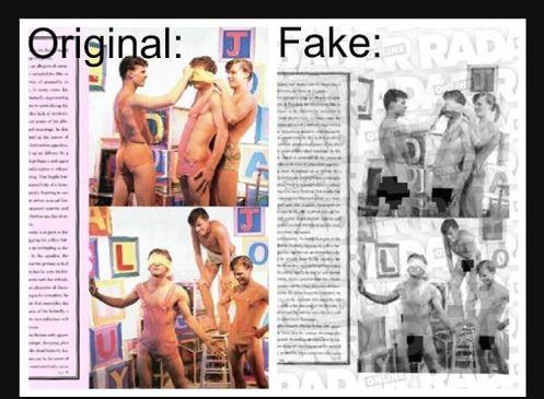 Radar Online Fake