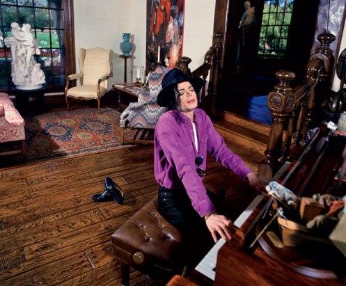 Michael Jackson Klavier