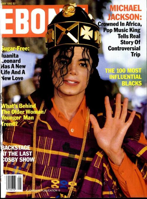 Ebony 1992 Cover
