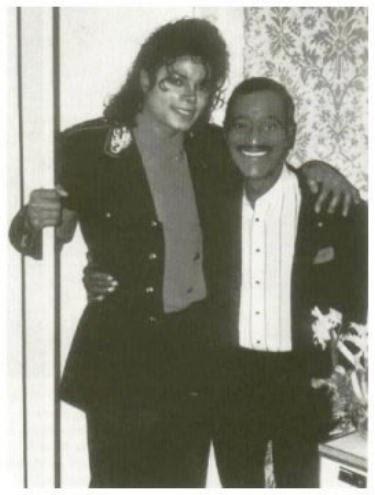 Michael Jackson und Sammy Davis Jr