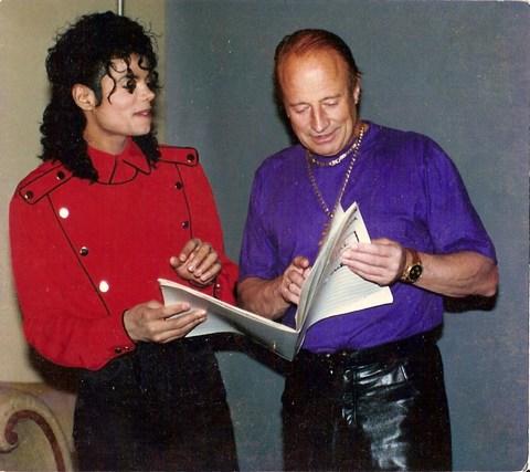 François Glorieux Michael Jackson