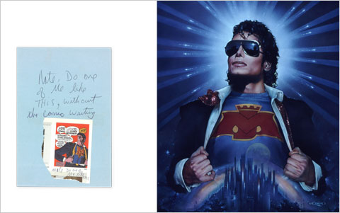 nate giorgio Michael Jackson note