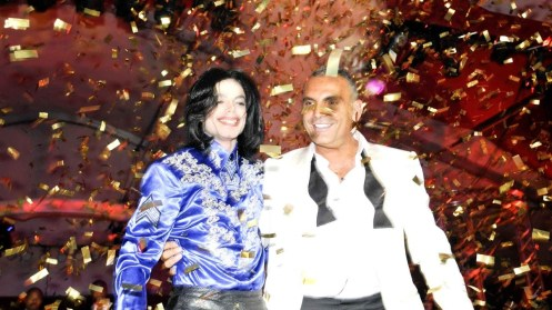 Audigier Birthday1, Michael Jackson + Christian Audigier