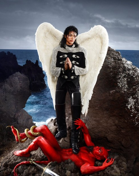 Archangel Michael- And No Message Could Have Been Any Clearer 1990 Chromogenic Print © David LaChapelle