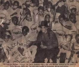 August 18, 1990, he welcomes 130 child YMCA summer program