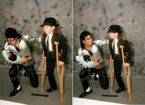 Michael und Andrew Wigglesworth, jan 1989