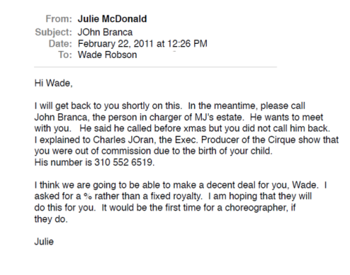 julie-mcdonald-e-mail-1 Etate
