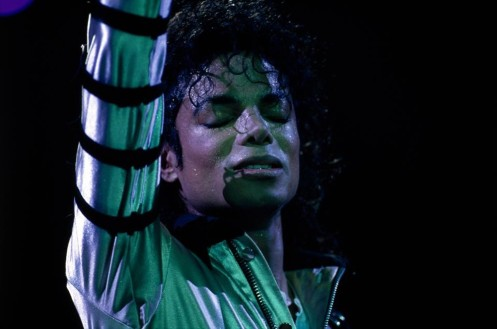Michael Jackson Madison Square Garden Bad Tour